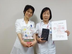 野田看護部長(元気プロジェクト委員、右)
